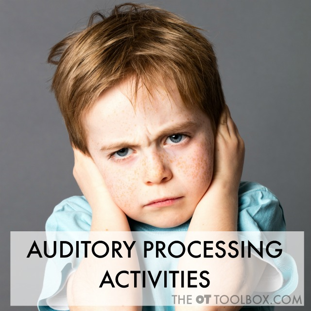 Auditory processing activities for kids