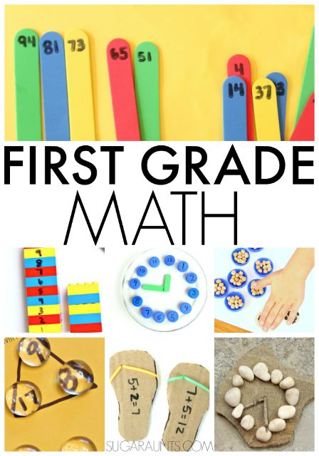 First grade creative learning math activities