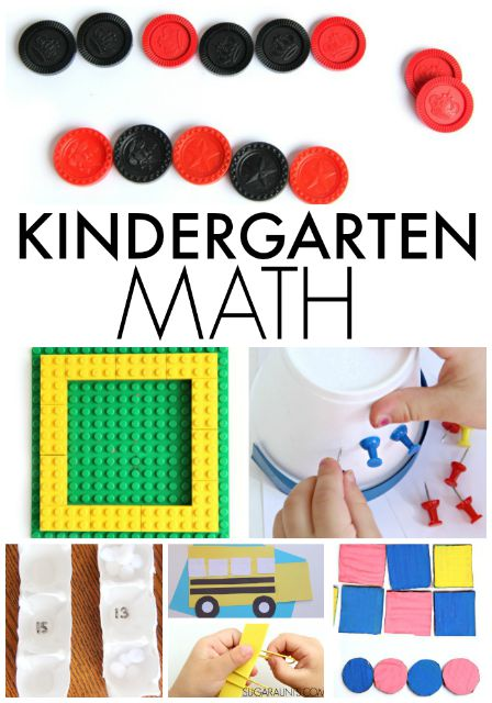 Kindergarten Math ideas