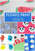 Potato Print Crafts