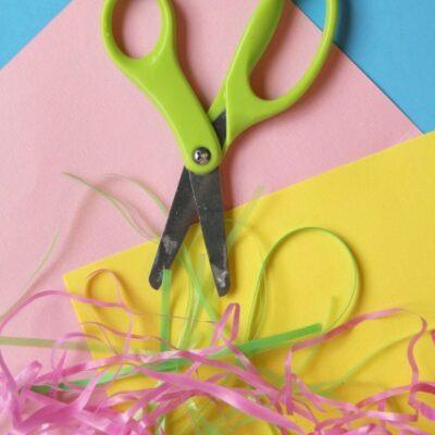 Scissor Skills Easter Activity