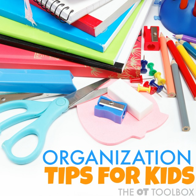Organization activities to help kids