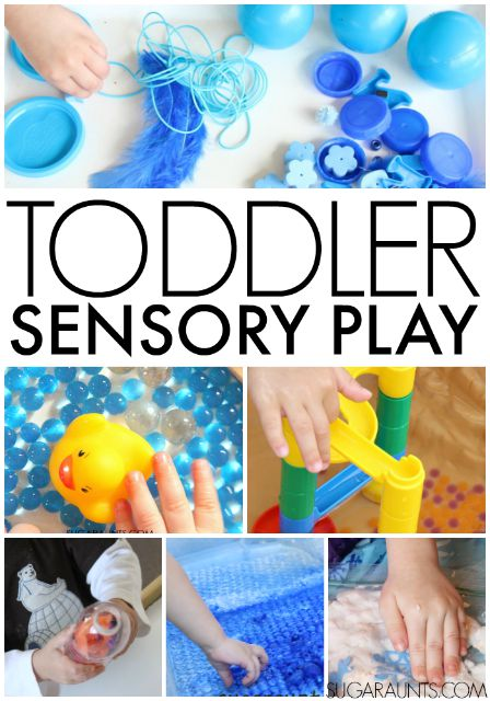 Toddler Sensory Play Ideas