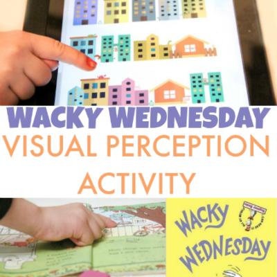 Wacky Wednesday Visual Perception Activity