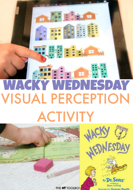 Wacky Wednesday Visual Perception Activity