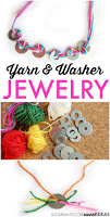upcycled crafts with washers