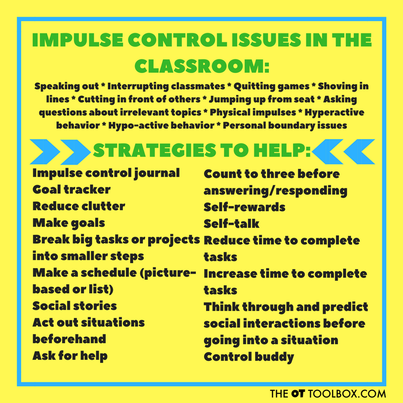How to Teach Kids Impulse Control - The OT Toolbox