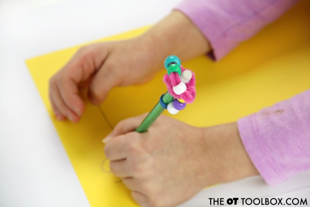 Diy Pencil Topper Fidget Toy The Ot Toolbox