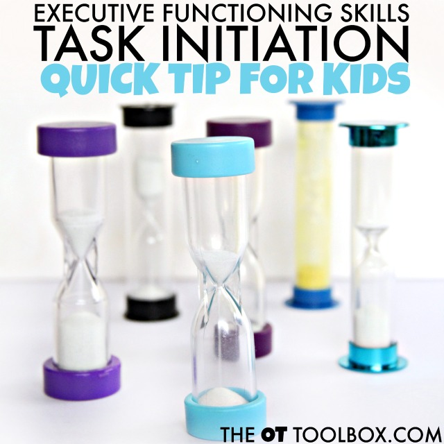 Executive functioning task initiation strategies for kids.