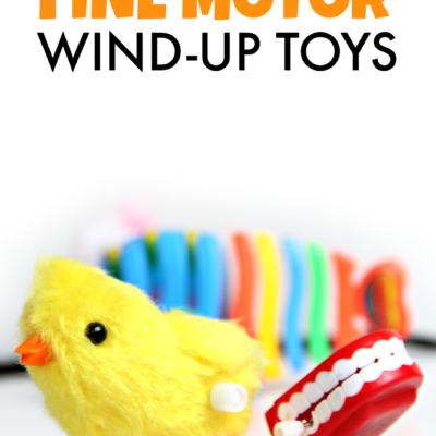 Use Wind-Up Toys Fine Motor Activity
