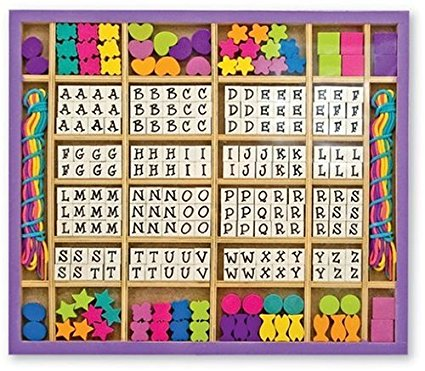 alphabet bead kit