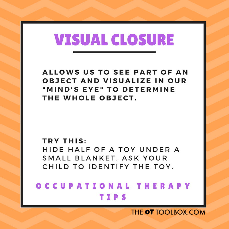 Visual closure activity