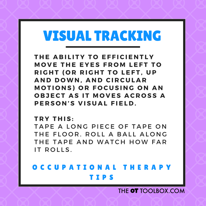 Visual tracking tips and tools