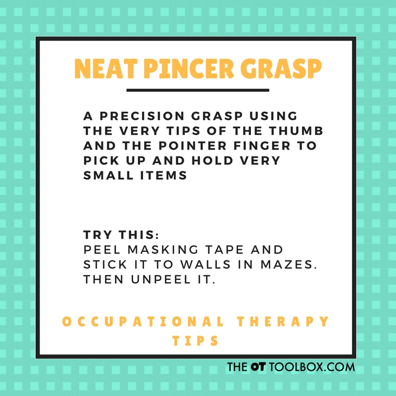 Neat pincer grasp activities