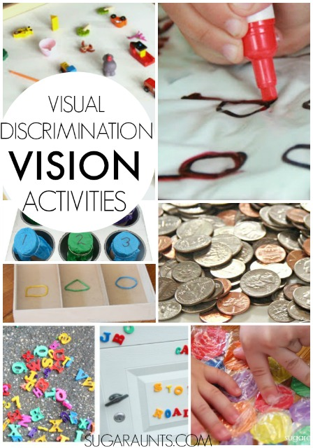 Visual discrimination activities