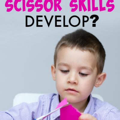 Steps of Scissor Skill Development