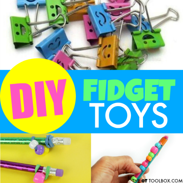 These DIY fidget toys are a perfect addition to the classroom to address sensory and attention needs in kids.
