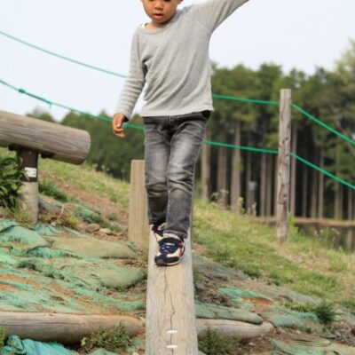 Outdoor Balance Beam Ideas