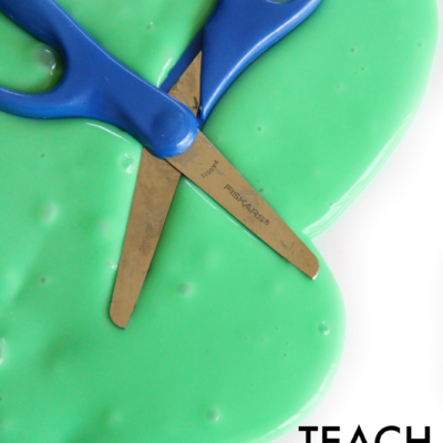 Teach Scissor Skills by Playing with Slime