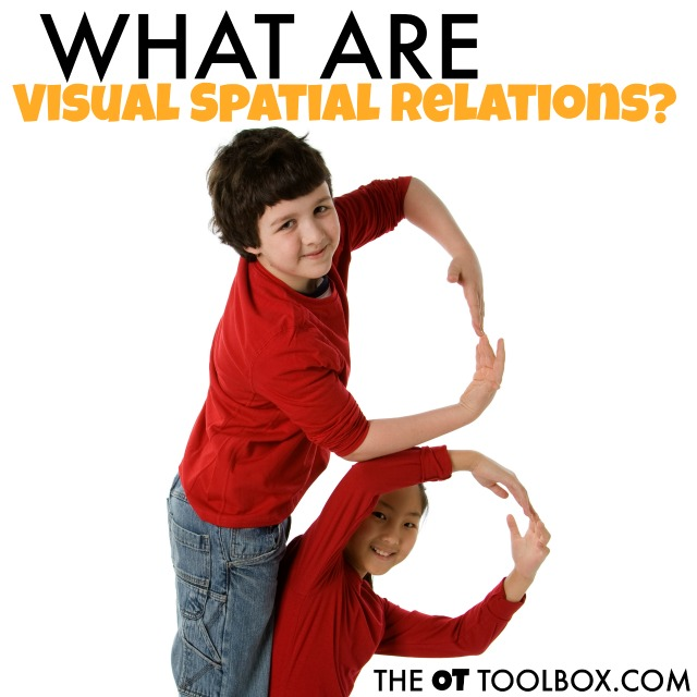 What are visual spatial relations and how are visual relationships and visual concepts needed for functional tasks?