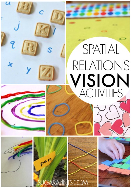 What are Visual Spatial Relations - The OT Toolbox
