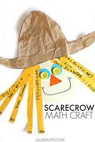 Scarecrow Scissor skills fine motor craft