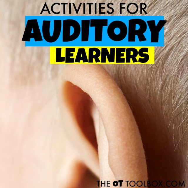 Try these strategies to help kids who are auditory learners in the classroom or at home.