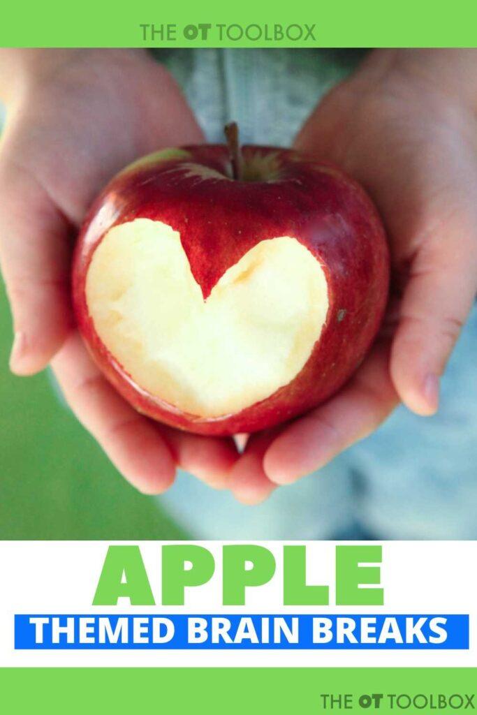 apple brain breaks for kids