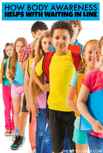 Kids need heavy work and propriocpetion to help with body awareness needed for skills like standing in line, motor control, and spatial awareness in school and in the community.