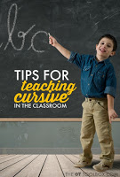 Tips for Teaching Cursive in the Classroom