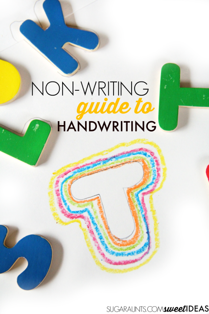 Line awareness and spatial awareness without handwriting