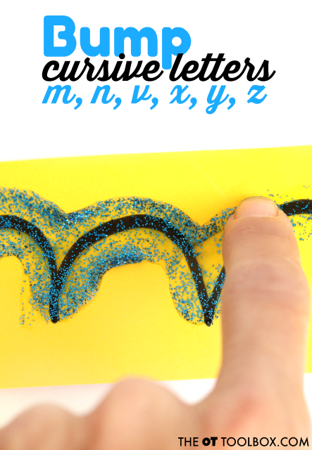 Teach cursive writing strokes with this fun handwriting activity.