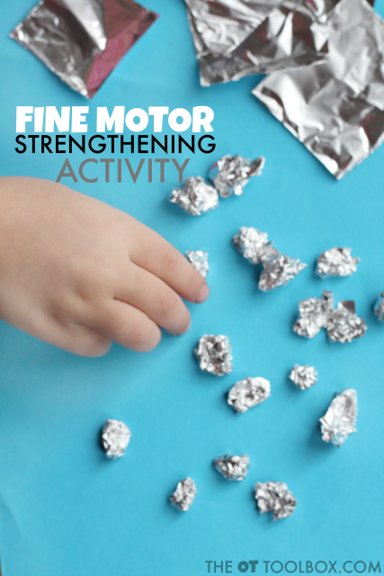 Fine motor strengthening activity