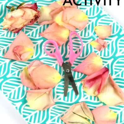 Scented Scissor Skills Activity