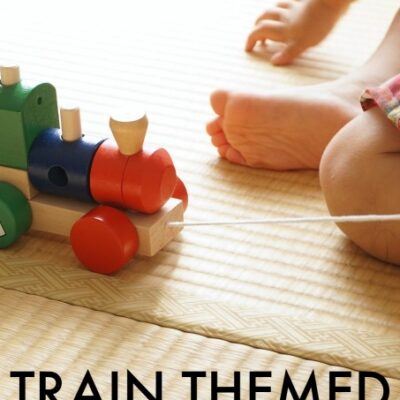 Train Themed Sensory Ideas