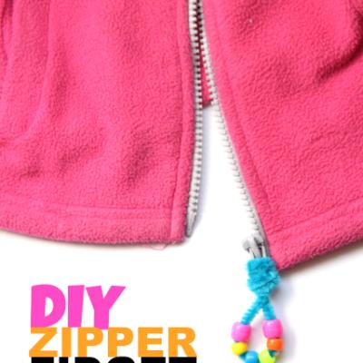 DIY Fidget Tool Zipper Pull