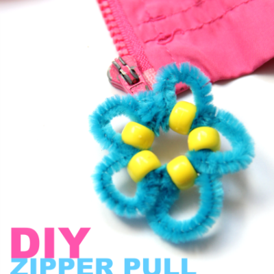Zipper Pull Craft