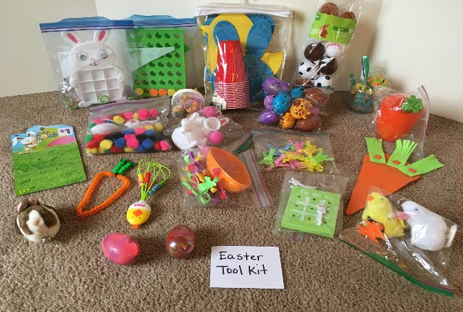Create an Easter themed occupational therapy activity kit with a holiday theme to address underlying skill areas like strength, fine motor skills, visual motor skills, and other OT goals.