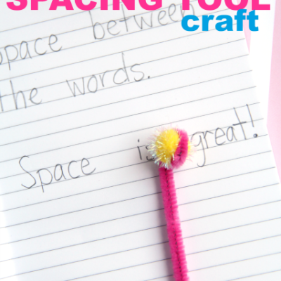 DIY Handwriting Spacing Tool Craft