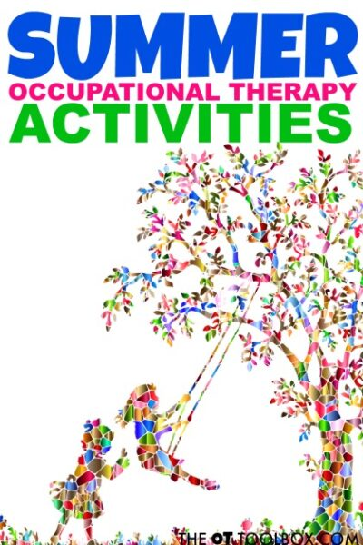 Summer occupational therapy activities