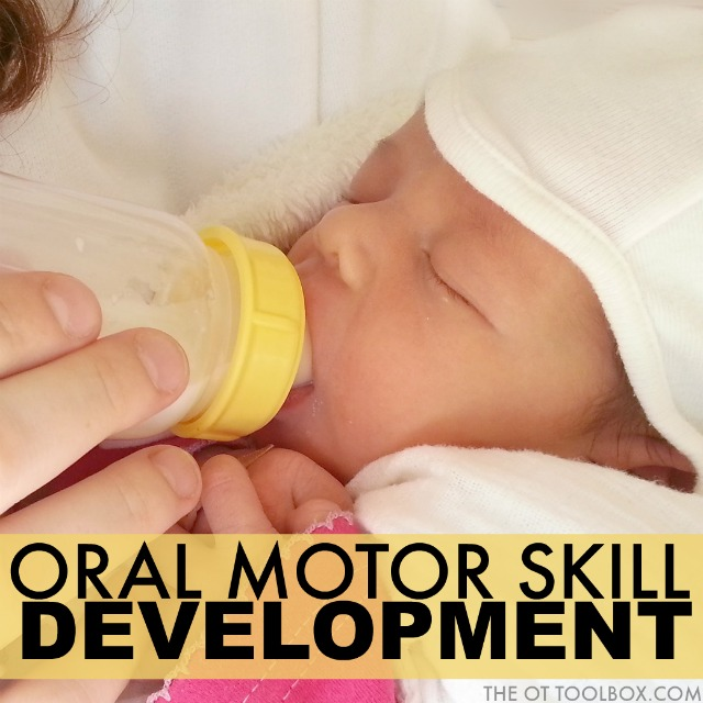 Oral motor skill development in kids and how development of oral motor skills translates to feeding problems