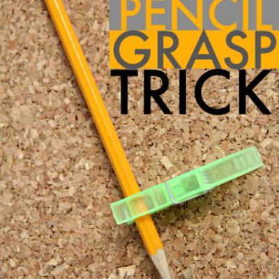 Easy Pencil Grasp Trick