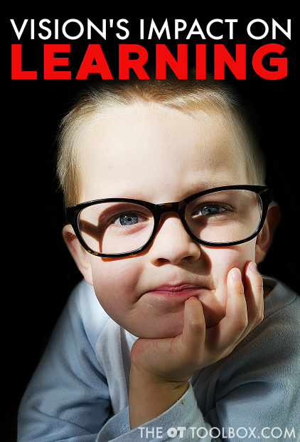 There are many ways that vision problems affect learning in kids.