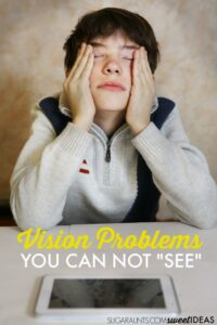 Visual efficiency visual processing and other vision problems