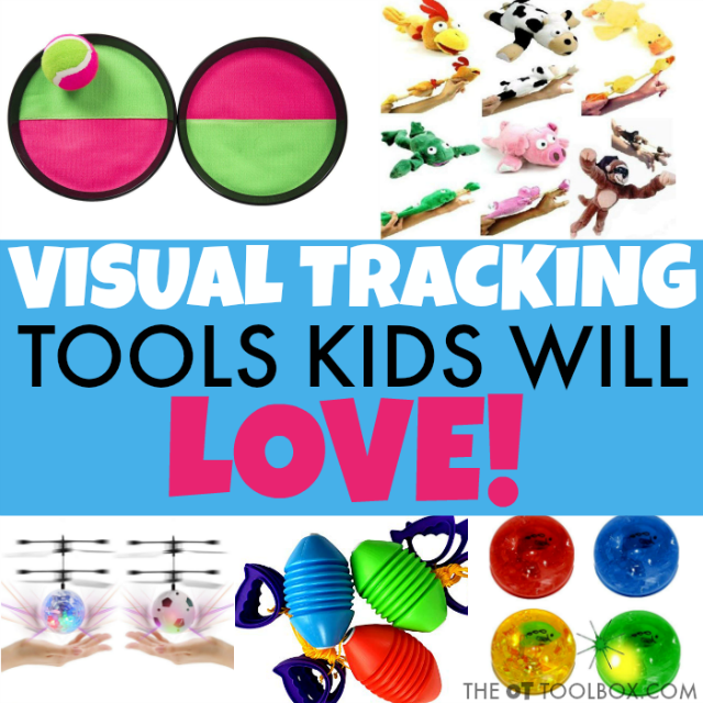 These visual tracking games are a helpful tool in addressig visual tracking goals that kids may have interfering with handwriting, reading, and learning.