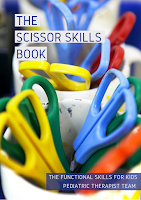 The Scissor Skills Book helps kids develop the skills they need to cut with scissors.