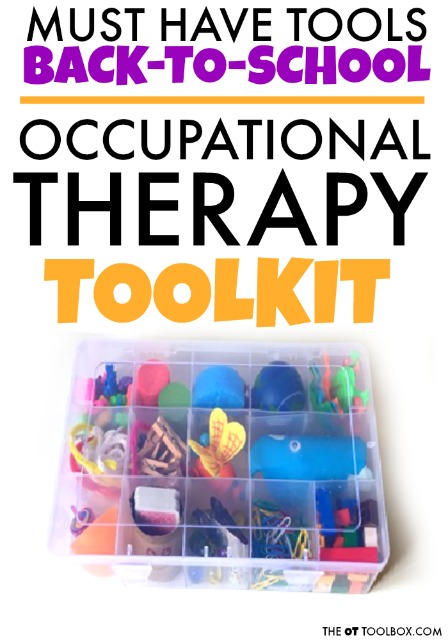 Use these fine motor activities and occupational therapy tools to create a back-to-school fine motor toolkit that helps students address occupational therapy goals while building rapport.
