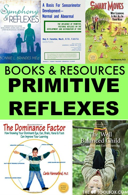 Books about primitive reflexes and resources for learning about primitive reflexes including primitive reflexes courses and reflex integration trainings.