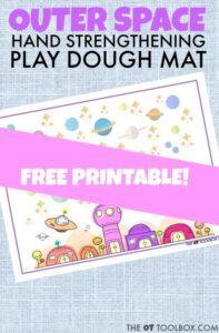 space play dough mat