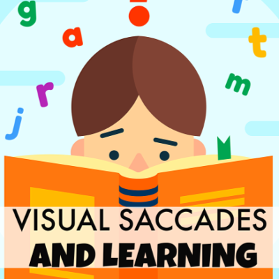 Saccades and Learning